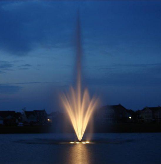 AquaMasters Celestial Fountain 120 Volt Night Glow Lighting