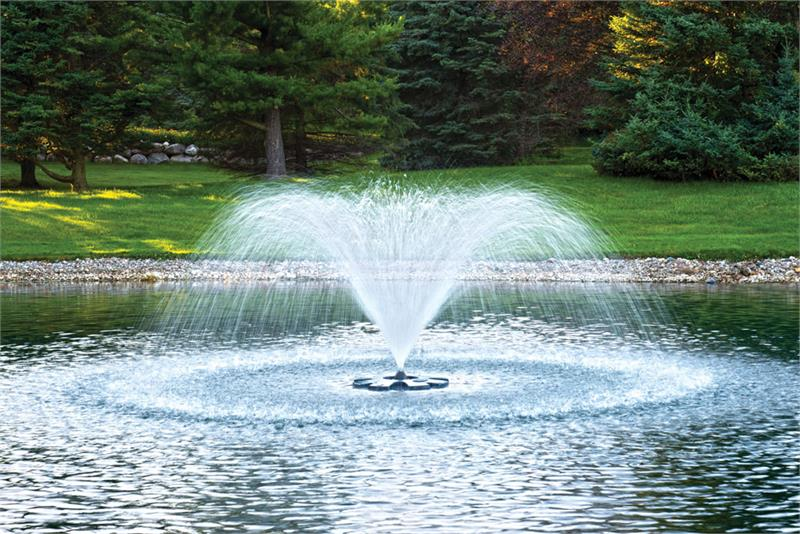 Ecoseries 1/2 HP Fountain with 400' Cord for Ponds & Lakes